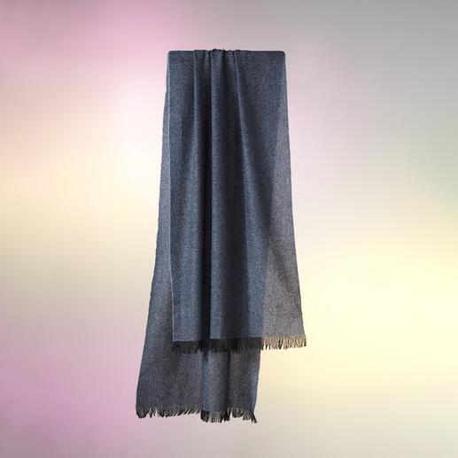 Pashmere kasjmiersjaal Een zeldzaamheid: een van de lichtste en tegelijkertijd heerlijk warme pashmina-sjaals ter wereld.