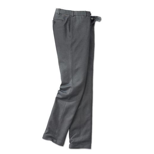 Hiltl zakelijke jerseypantalon Pantalon met zakelijke uitstraling. Echter gemaakt van comfortabele jersey.