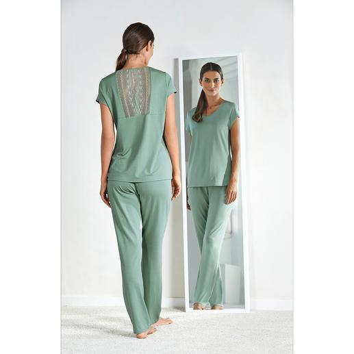 Charmor couture-pyjama Vrouwelijk. Elegant. Droomzacht. Soepel als zijde (en betoverend).