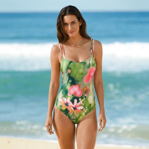 SunSelect®-zwempak Dit badpak werkt als een goede zonnebrandcrème.