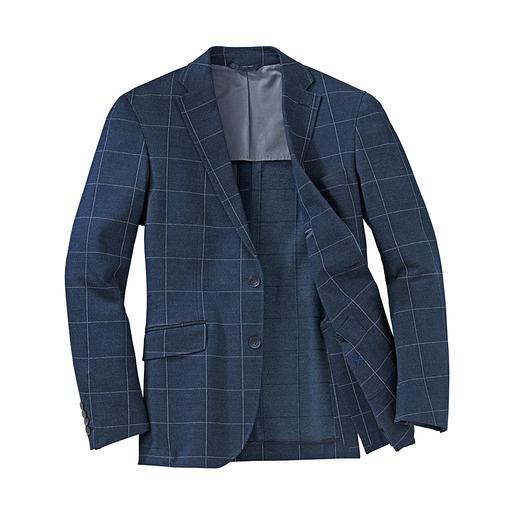 Hackett jerseycolbert Nu eens correct bij een flannelpantalon. Dan weer ongedwongen bij jeans. Maar altijd heerlijk comfortabel.