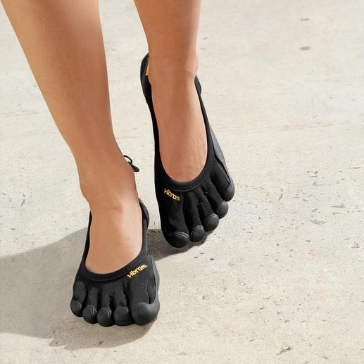 FiveFingers®- schoenen voor dames Net zo gezond en ontspannen als lopen op blote voeten, maar zonder kans op verwondingen of vieze voeten.