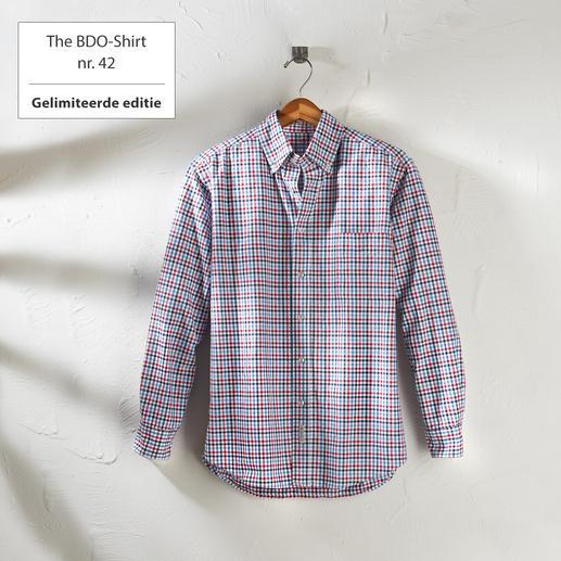 The BDO-Shirt nr. 42, geruit Ontdek een goede oude vriend. En vergeet dat een overhemd moet worden gestreken.