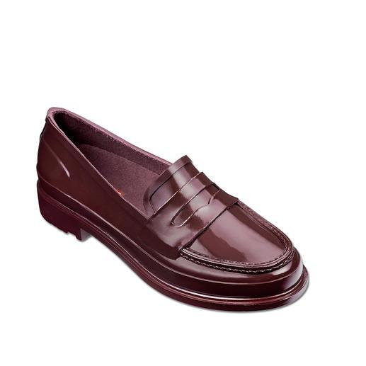 Hunter penny-loafers Stijlvol. Waterdicht. Zeer comfortabel. Penny-loafers van 100% natuurrubber.  Van Hunter.