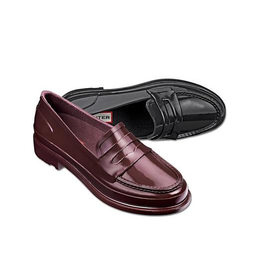 Hunter penny-loafers - Stijlvol. Waterdicht. Zeer comfortabel. Penny-loafers van 100% natuurrubber.  Van Hunter.