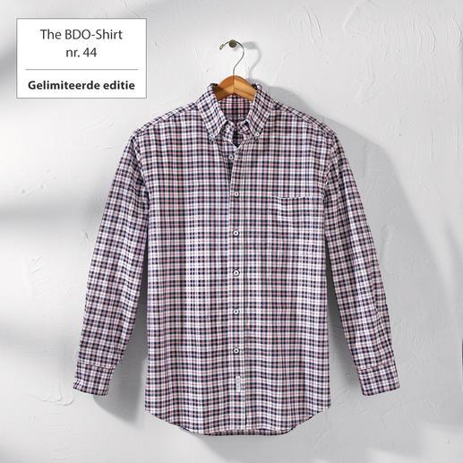The BDO-Shirt nr.44, geruit Ontdek een goede oude vriend. En vergeet dat een overhemd moet worden gestreken.
