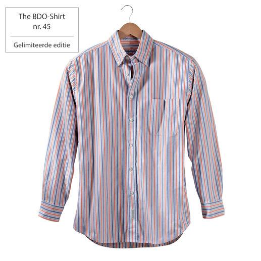 The BDO-Shirt nr.45, gestreept Ontdek een goede oude vriend. En vergeet dat een overhemd moet worden gestreken.