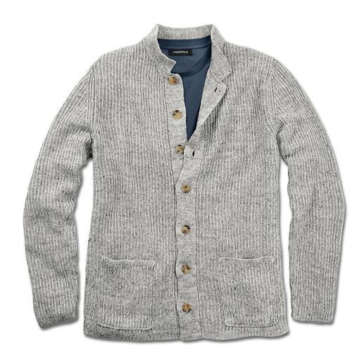 Inis Meáin pub-jacket Al meer dan 30 jaar een klassiek model: het pub-jacket van Inis Meáin. Made in Ireland.