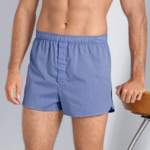 Derek Rose new boxershort Modieus smal model. Traditionele origine. Boxershort van ondermodespecialist Derek Rose, Londen.