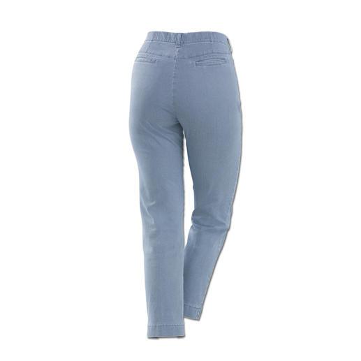 RAPHAELA-BY-BRAX toverbandbroek, blauw Waarschijnlijk uw meest comfortabele broek: de toverbandbroek van RAPHAELA-BY-BRAX.