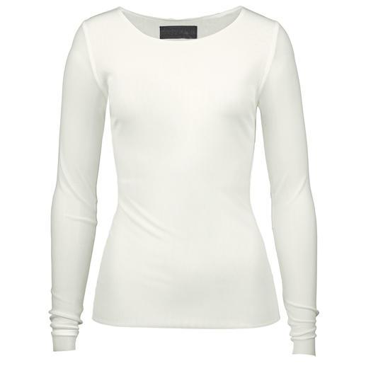 Barbara Schwarzer basic longsleeve Hét basic shirt voor alle looks. Sportief en casual, zakelijk en elegant te stylen. Design: Barbara Schwarzer.