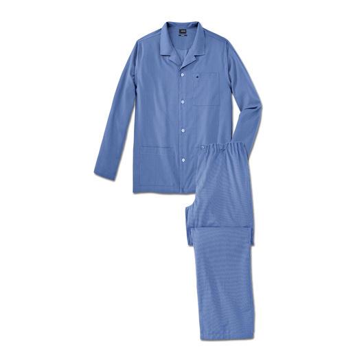 Seidensticker strijkvrije pyjama Alle voordelen van een goede, katoenen pyjama. Maar zonder dat lastige strijken. Van Seidensticker.
