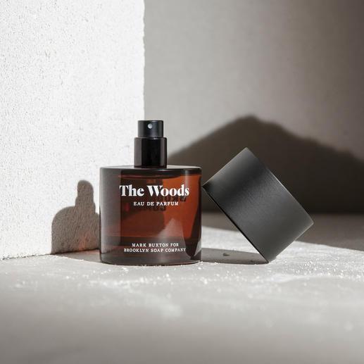 Eau de parfum 'The Woods' - Gecreëerd door de wereld-beroemde parfumeur Mark Buxton – en toch een goed bewaard geheim.