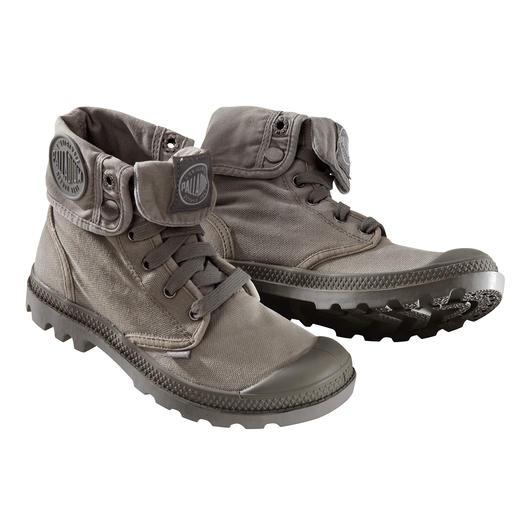 Tijdloos design. Onverwoestbare kwaliteit. Tijdloos design. Onverwoestbare kwaliteit. Iconisch sinds 1947. Nu weer modieus: originele Palladium-boots.