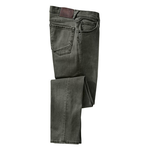 Brax coloured denim jeans Hi-Flex Moderne Slim cut – en toch zo comfortabel als een joggingbroek. De Brax jeans van innovatief Hi-Flex-materiaal.