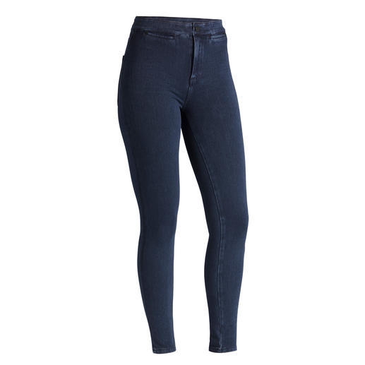 Acynetic Knit-jeans De revolutionaire Acynetic Knit-jeans van de 'Godfather of Denim': Adriano Goldschmied.