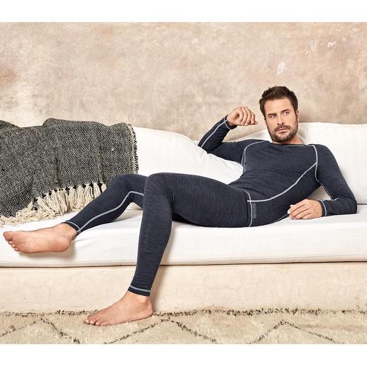 Active-Wool Skiny ondergoed De perfecte ondermode voor elke dag en voor het hele jaar. Van Skiny, Oostenrijk.