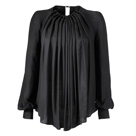 Plein Sud Jeanius zwierige blouse Trendy zwierig wijd en toch flatteus smal. Zwierige blouse van soepele viscose-twill.