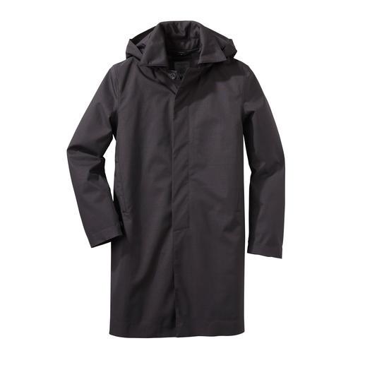 Norwegian Rain regenjas voor heren Deze stijlvolle regenjas is gemaakt in kleermakersstijl. Waterdicht, winddicht en ademend.