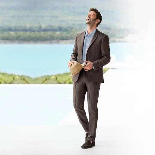 Lagerfeld Holiday- Suit-colbert of -broek Hoog comfort, verzorgde look. Licht zomers pak van Lagerfeld.