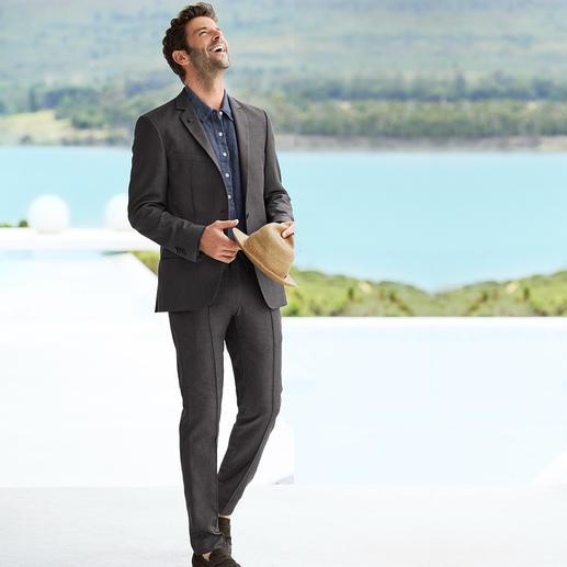 Karl Lagerfeld Holiday- Suit-colbert of -broek - Hoog comfort, verzorgde look. Licht zomers pak van Karl Lagerfeld.