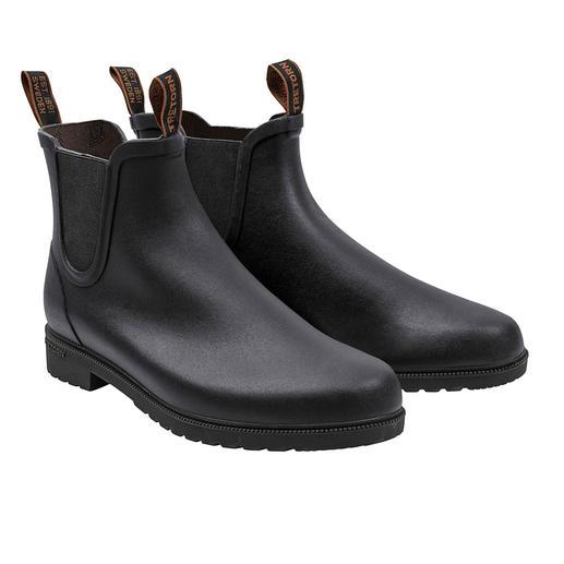 Tretorn Chelsea-boots van natuurrubber De stijlvolle manier om rubberlaarzen te dragen. Waterdichte Chelsea-boots van natuurrubber, van Tretorn.