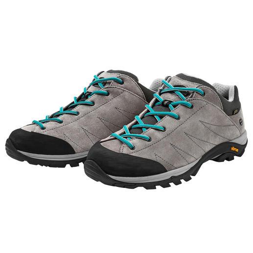 Zamberlan®-sneakers voor dames De perfecte schoen voor op reis. Lekker zittend, robuust, waterdicht, licht en ventilerend. Van Zamberlan®.