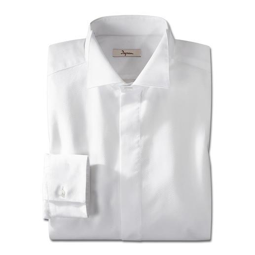 Ingram casual jacquet-overhemd In Italiaanse stijl: Ingram maakt het klassieke jacquet-overhemd geschikt om elke dag te dragen.