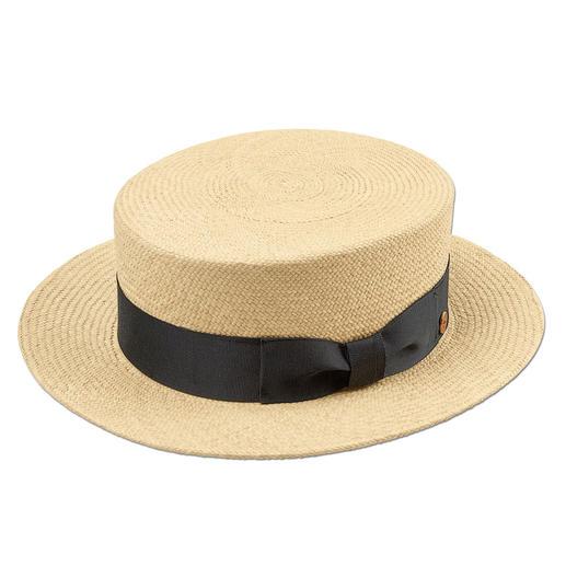 Mayser hoed van stro - De klassieke hoed van stro is weer helemaal terug. Met de hand gevlochten in Ecuador. Van Mayser.