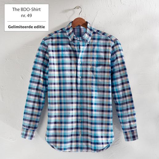 The BDO-Shirt No.49, geruit Ontdek een goede oude vriend. En vergeet dat een overhemd moet worden gestreken.