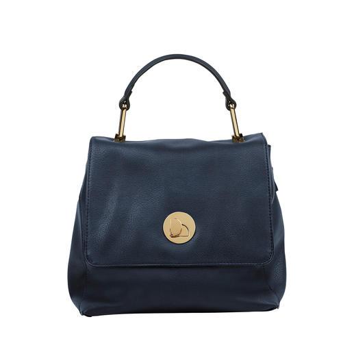 Merch Mashiah tas met hengsel De betaalbare designertas van de haute-couturester Merch Mashiah.