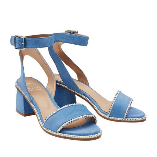 MA&LÒ sandaaltjes met riempje Trendy sandaaltjes met riempje en studs: in een draagbare hoogte, heel stijlvol en voor een aantrekkelijke prijs.