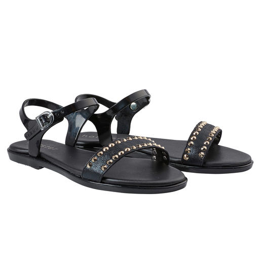 holster sandalen met studs Mooi voor strand en bar: chique strandsandalen van het trendy merk holster, Australië.