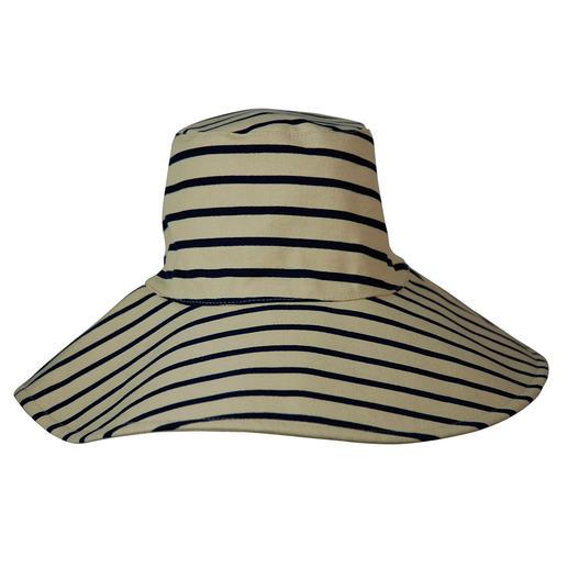 Eén praktische hoed – twee trendy looks. Vakantiefavoriet: de keerbare slappe hoed van canvas, van cult-label Hat Attack, New York.