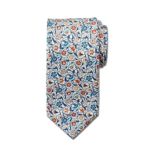 Ascot Liberty™-stropdas - Originele Liberty™: wereldberoemde bloemendessins sinds 1875. Met de hand gemaakt in Duitsland. Van Ascot.