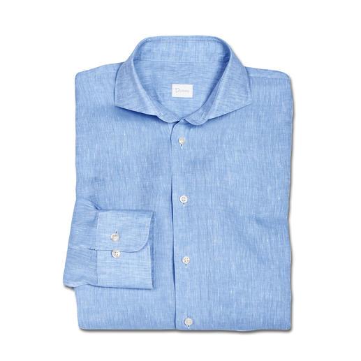 Dorani zakelijk overhemd van linnen Perfect voor bij temperaturen van 30 °C en hoger. Van de overhemdenspecialist Dorani.