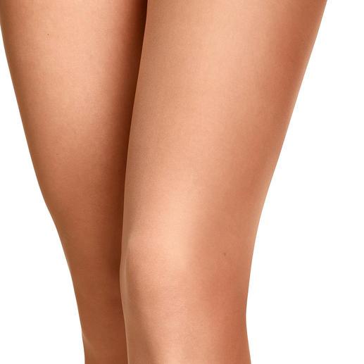 Item m6 contourpanty Wereldprimeur: de eerste panty met contoureffect. Optisch slankere benen over de hele lengte. Van Item m6.