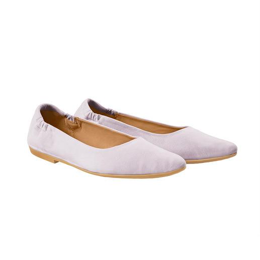 Alsof u op blote voeten loopt: de sacchetto-ballerina's van Marta Ray, Italië. Alsof u op blote voeten loopt: de sacchetto-ballerina's van Marta Ray, Italië.