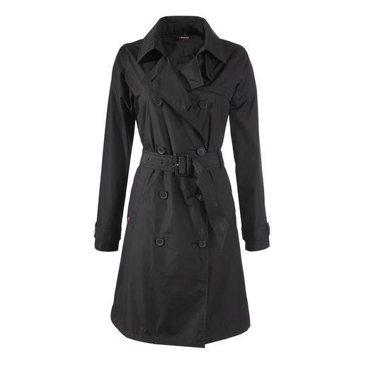 Knirps® regen-trenchcoat, dames Waterafstotend en ademend. Klein opvouwbaar en heerlijk licht. Wasbaar en sneldrogend.