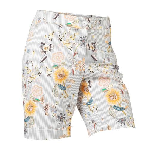 Chique bermuda Elegant genoeg als alternatief voor een rok. Gemerceriseerd katoen. Perfecte lengte. Aantrekkelijke prijs.