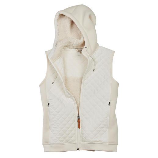 Aigle doorgestike bodywarmer van teddy-fleece Warm, windwerend en een mooie aanvulling op uw jas of mantel. Van Aigle.