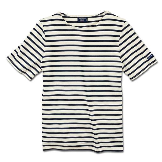 Het originele Bretagne-shirt. Het originele Bretagne-shirt. Visserstraditie sinds de 19e eeuw. Van Saint James, Frankrijk.