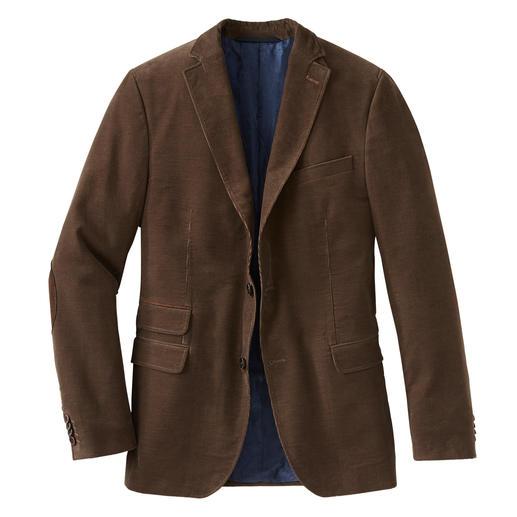 Pontoglio corduroy jasje Robuuster, fijner, briljanter: het Edelcord jasje van de Italiaanse specialist Pontoglio, sinds 1883.