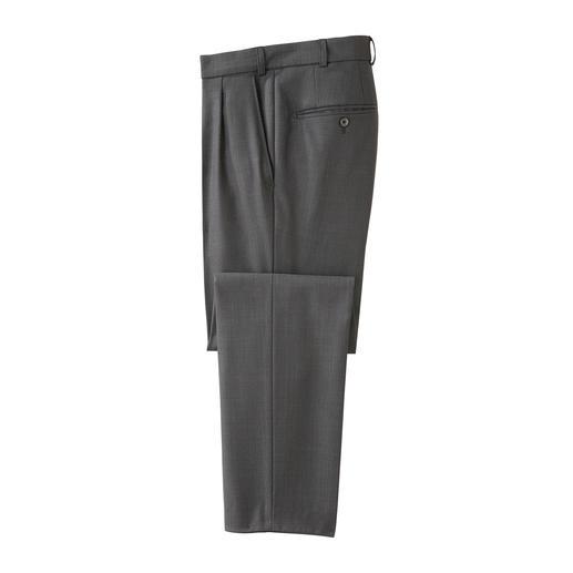 Moderne zakelijke broek van Hoal De moderne zakelijke broek: een correct uiterlijk. Modieus tintje.