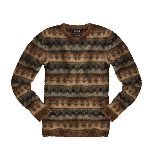 Howlin' trui in herfstkleuren Modern design uit de modestad Antwerpen, traditioneel gebreid in Schotland. Van het Belgische merk Howlin'.