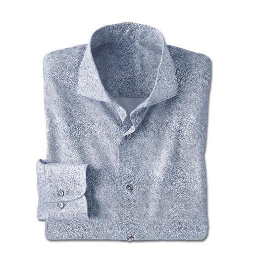 Dorani paisley-overhemd Als dessin voor stropdassen een klassieker. Als overhemd topactueel: paisleydessin. Van Dorani.