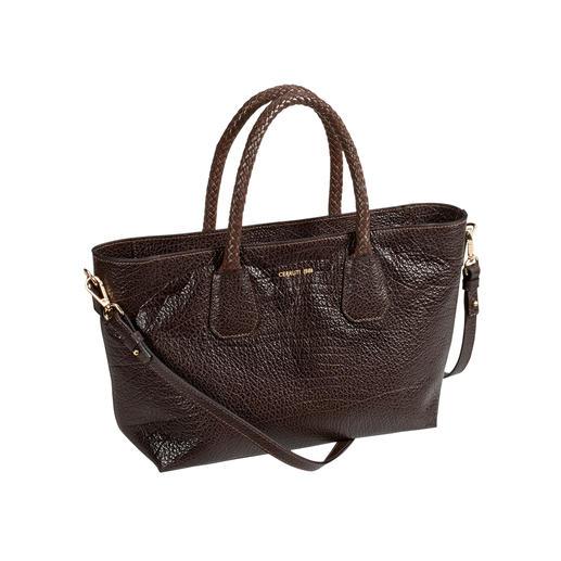 Cerruti 1881 tas van kalfsleer Mooier dan veel andere trendy tassen: designertas voor (bijna) elke look en elke gelegenheid.