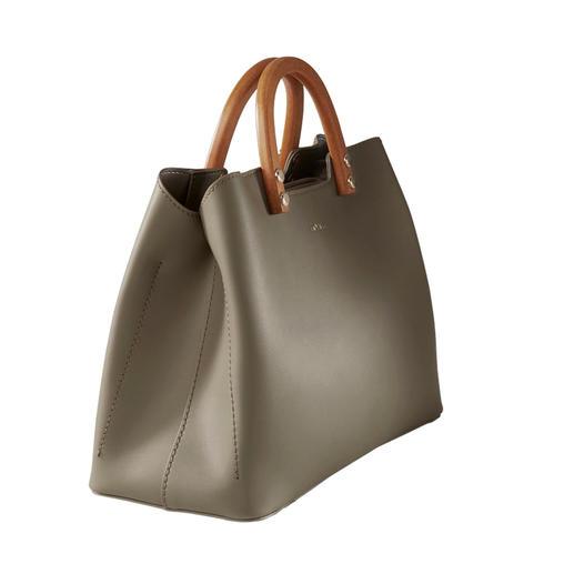 Inyati Olive handtas Ontwerpprijswaardig. En toch heel betaalbaar. De elegante, minimalistische handtas van Inyati.