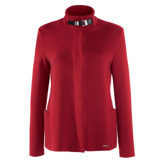 Saint James Belle ile vest Elegant als een couture-jasje. Veelzijdig als een jeansjack. En net zo comfortabel als een vest.