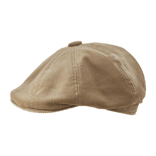 Kangol® 8-delige corduroy hoed Een van de weinige onder de modieuze corduroy-hoeden met een werkelijk perfecte pasvorm.